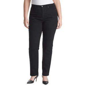 Gloria Vanderbilt Amanda Sculpt Jeans - black